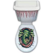 Halloween Horror Blood Terror Zombie Toilet Topper Decoration