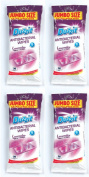 4 x Duzzit 30 Pack Lavender Anti Bacterial Wipes Jumbo Size