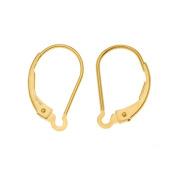Gold Filled Earrings Interchangeable Lever Backs, 1-pair