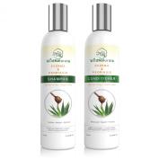 Wild Naturals Eczema & Psoriasis Restoring Shampoo & Conditioner Set, 240ml