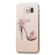 Urberry High-heeled shoes Hard Plastic Case Cover for Samsung Galaxy S6 with Free Stylus