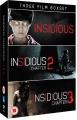 Insidious: 1-3 [Region 2]