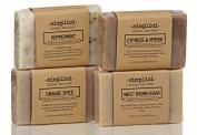 SIMPLICI Bold Botanicals bar soap 4-pack