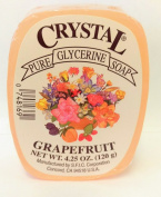 Crystal Glycerine Soap Bars Grapefruit