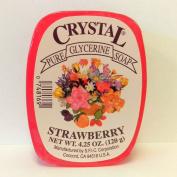 Crystal Glycerine Soap Bars Strawberry