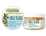 Nova Scotia Fisherman Sea Salt Body Scrub - Kelp & Seabuckthorn - 160ml