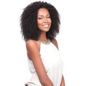 Sensationnel 100% Virgin Remi Bare & Natural Jerry Bohemian NATURAL BLACK Sew In Hair