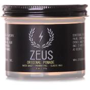 Zeus Original Pomade for Men - 120ml Jar - Paraben Free - Water Based Classic Hold Pomade