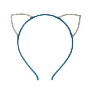 Rhinestone Cat Ear Candy Colour Headband
