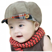 Children Corduroy Newsboy Cap Baby Winter Hat