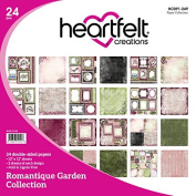 Heartfelt Creations Romantique Garden Double-Sided Paper Pack