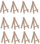 SL crafts 7cm By 12cm Mini Wooden Easels Display