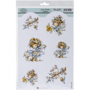 Hobby House Wee Stamps Topper Sheet, 21cm x 31cm , Sweet Meadow
