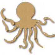 Eyeconnect Chipboard Totem Poppet, Octopus, 15cm by 15cm