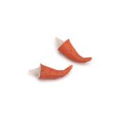 Snowman Carrot Nose - Bent - 2.2cm - 2 pieces