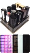 Acrylic Oversized Lipstick Organiser & Beauty Care Holder Provides 12 Space Storage | byAlegory