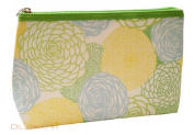 Clinique Carnations and Dandelions Floral Cosmetic Bag