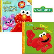 Sesame Street Elmo Book Set For Toddlers