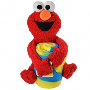 Sesame Street Elmo with 100cm x 130cm throw