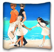 Custom Anime Custom Zippered Pillow Case 41cm x 41cm (one sides) from Surprise you suitable for X-Long Twin-bed