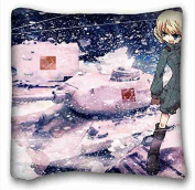 Custom Anime Pillowcase Standard Size 41cm x 41cm Design Pillow Case Cover suitable for Twin-bed