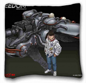 Custom Anime Custom Cotton & Polyester Soft Rectangle Pillow Case Cover 41cm x 41cm (One Side) suitable for California King-bed