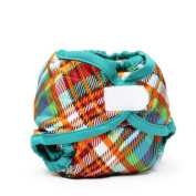 Rumparooz Newborn Quinn Plaid Aplix Cloth Nappy Cover by Rumparooz