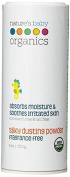 Nature's Baby Organics Dusting Powder Silky Smooth, 120ml by Nature's Baby Organics