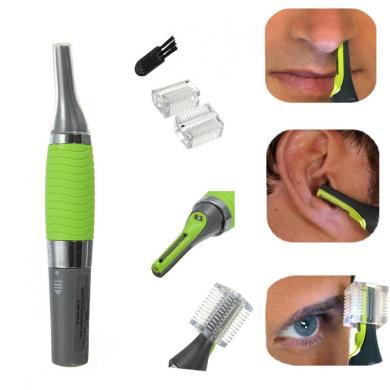 Men Nose Ear Face Neck Eyebrow Hair Trimmer Shaver Clipper Cleaner Health Care
