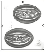 Vagina Chocolate Candy Mould 769