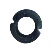 Octane Carbon Peep Nock, 0.6cm , Black