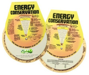 Energy Conservation Guide Wheel Spinning Info, Tips & Fun Saving Facts