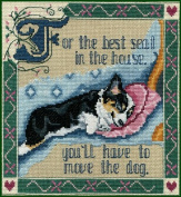 Pegasus Originals Move the Dog Counted Cross Stitch Chartpack