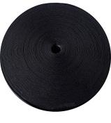 "Knitted Elastic 1 & 1/4"" 50 Yards - Black"