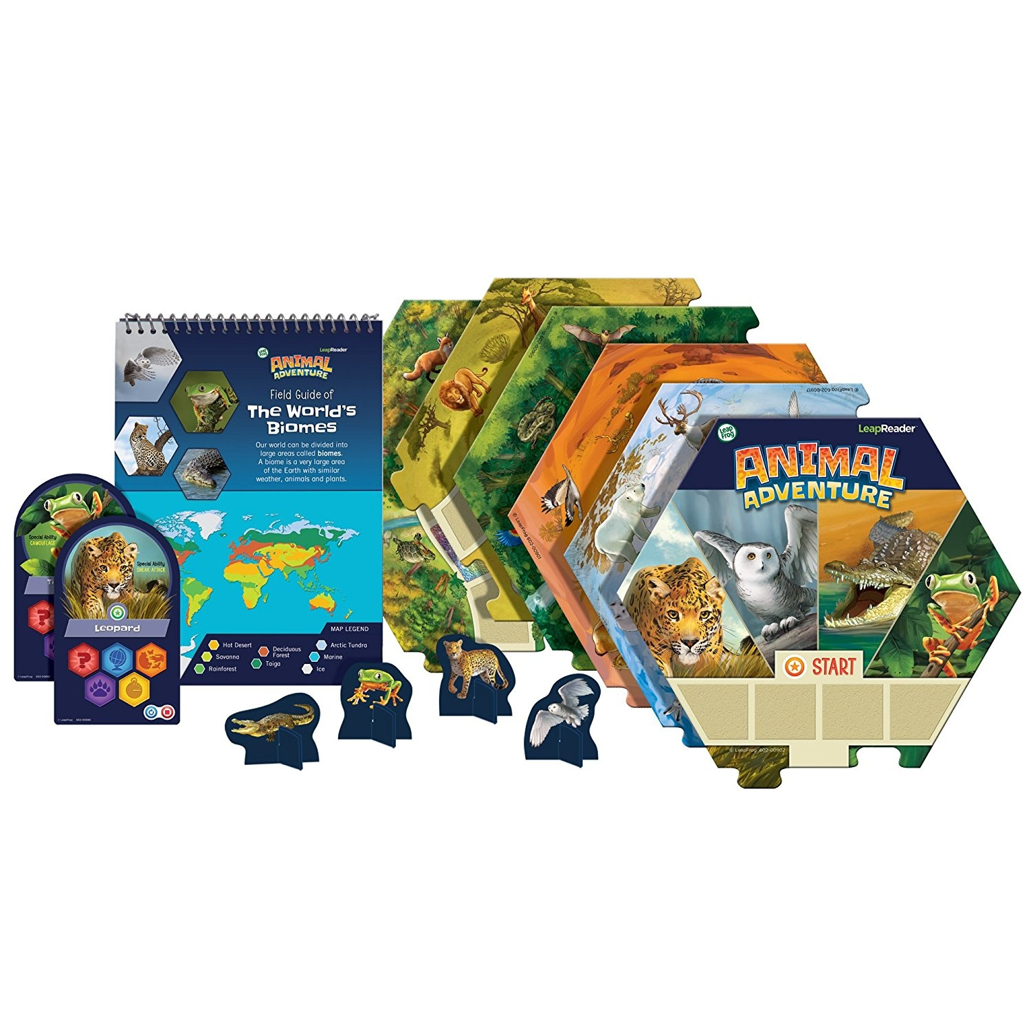 Leapfrog leapfrog leapreader animal adventure interactive board game toy gumiabroncs Image collections