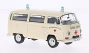 VW T2a Bus, DRK - German red cross, Model Car, Ready-made, Premium ClassiXXs 1:43