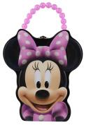 Disney Minnie Mouse Face Tin Purse Lunch Box