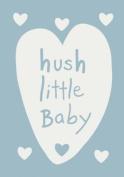 """Shruti """"Hush Little Baby"""" Blue Cotton Blanket - 70 x 90cm"""