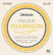 D'Addario EJ82A Nickel Plated Acoustic Guitar Strings, Medium