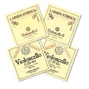 Larsen Violoncello Set, A/D Soloist's + G/C Magnacore 4/4 medium