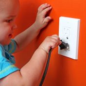Safety Baby Self-Closing Outlet Covers - 3 pack