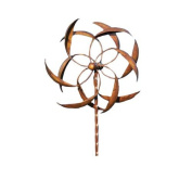 Ancient Graffiti 38cm Staked Feather Kinetic Spinner, Large