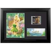 Disney's Tinkerbell Great Fairy Rescue 19cm x 14cm Wood Framed Movie Film Cells Plaque