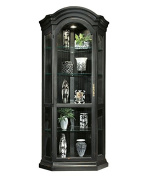 Philip Reinisch Colour Time Panorama Corner Display Cabinet, Pirate Black