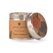 Rosy Rings tin-pfh Pumpkin Farmhouse Soy Tin