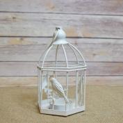 14cm Classical Birdcage Hexagon Tealight Candle Lantern by PaperLanternStore