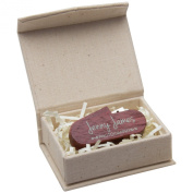 Small Linen Box for Flash Drive or Jewellery