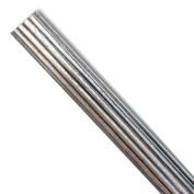 Menagerie 3.5cm Fluted Pole, 1.8m, Antique Silver