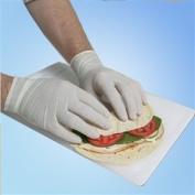 5 mil Latex Food Service Gloves, PF, MD, 100/box