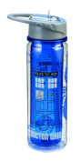 Vandor 16075 Doctor Who Tritan Water Bottle, 530ml, Multicoloured